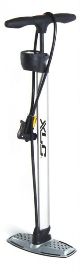 XLC vloerpomp met manometer Alu